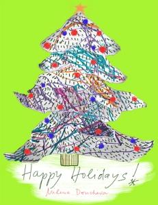 Happy Holidays from Milena Doncheva