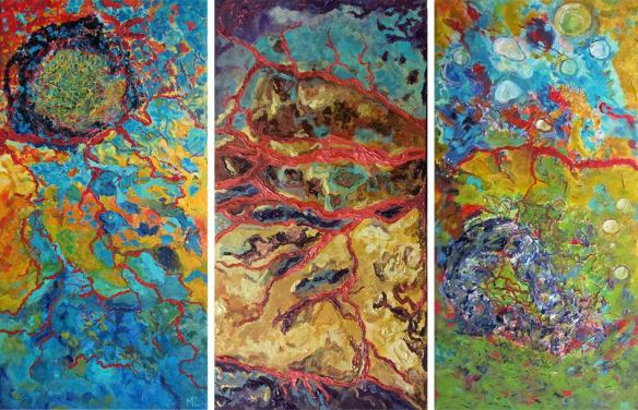 abstract painting martine