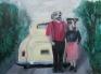 Acrylics on canvas by Kirsten Lamertz