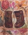 Soft pastel drawing by Kirsten Lamertz