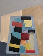 Abstract painting by Dominic Etienne