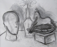 Gesture drawing by Judith
