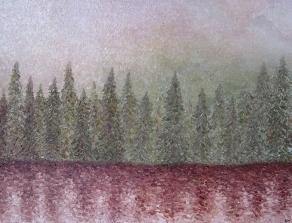 Oil on canvas by Alissa Miniovich