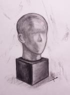 Charcoal sketch by Fulya Vekiloglu