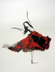 Ink Drawing by Ashira Lapin
